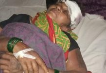 Pastor's wife after attack by extremists in comma