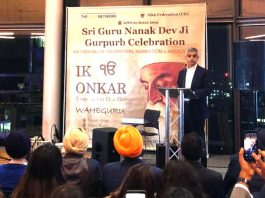 Sikh presented award to Imran Khan ceremony