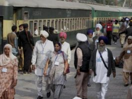 Indian pilgrims in Pakistan