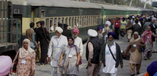 Indian pilgrims in Pakistan
