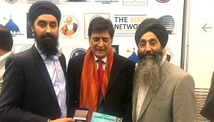 Award for Imran Khan by Sikh community